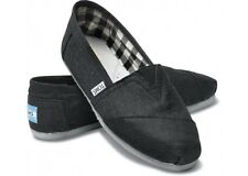 TOMS CLASSIC SLIP-ON MEN Shoes (EARTHWISE SLATE) BRAND NEW in BOX!!