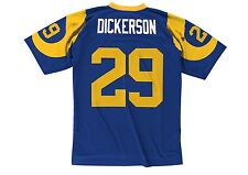 Eric Dickerson #29 Los Angeles Rams 1984 Throwback Mitchell & Ness Jersey - Blue