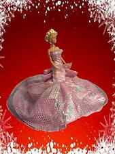 Princess Barbie Handmade Party Wedding Dress Clothes Gown Birthday Gift OOAK