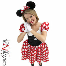 Adult Ladies Disney Minnie Mouse Costume Official Licensed Fancy Dress Women New