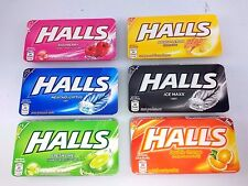 HALLS Thailand Candy Relief of Cough&Soothing SoreThroat 22.4 Gram (8pcs)