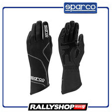 SALE Sparco Groove gloves Black White Karting Racing Kart Race guantes Moto 2017
