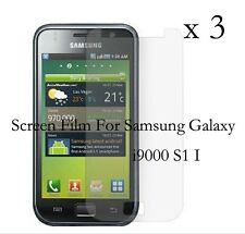 3 Glossy Matte LCD Screen Protector Film Cover For SAMSUNG GALAXY i9000 S1 S 1 I