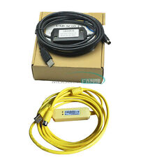 USB-SC09-FX Cable USB to RS422 Adapter PLC Programming For Mitsubishi FX Win7 US