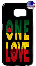 Bob Marley Reggae Case Samsung Galaxy One Love Rasta Cover For S8 Plus S7 S6 S5