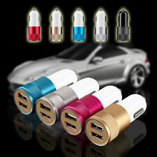 2 Port Mobile Dual Charger USB Car Adapter Universal Fast Quick Charging+USB 01