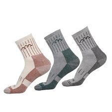 2 Pairs Men's Outdoor Cotton Socks Athletic COOLMAX Climbing Hiking Running Sock