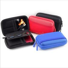 HDD Bag Hardcase for Portable Hard Disk Drive Case Twin Zipper Cover