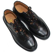 Ghillie Brogues Scottish Kilt Leather Shoes with Leather Sole UK Size 6 - 12