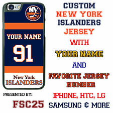 Custom NEW YORK ISLANDERS Hockey Jersey phone Case Cover for iPhone 6 6 PLUS 5 4