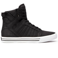 New SUPRA SKYTOP BLACK WHITE WHITE