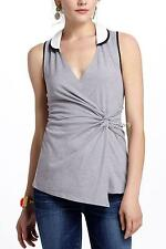 NEW Anthropologie LeifNotes Contrast Collar Tank  Size M