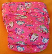 Adult New AIO Reusable Super Absorbent Cloth Diaper S,M,L,XL Royal Cuteness