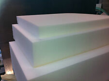 Cut to size, High Density Upholstery foam seat pads / Replacement sofa cushions