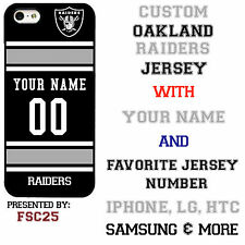 New Custom OAKLAND RAIDERS phone Case Cover for iPhone 6 6 PLUS 5 5s 5c 4 4s