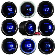 52mm DIGITAL BOOST WATER TEMP OIL TEMP OIL PRESSURE TACHO Meter Volt GAUGE AU ##