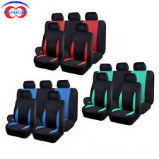 car seat covers set polyester army knife washble universal low back bench split