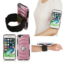 Sports Gym Running Jogging Armband Wrist Hard Case Bag For Iphone 7 /7 Plus