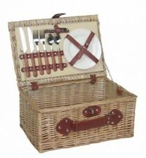 Picnic Hamper 2 person Fitted Picnic Basket FH036. Brand New