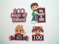 3D-U Pick - SG3 School Boy Girl Friends Lunch StarCard Scrapbook Embellishment