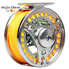Fly Reel and Line Combo 3/4 5/6 7/8 CNC Machined Fly Fishing Reel & Line