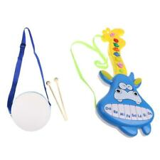 Mini Musical Drum/Music Cartoon Guitar Musical Developmental Toy Kids Toys