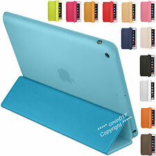 100% PU Leather Smart Cover Magnetic Stand Case For Apple iPad Air 4 3 2 Mini
