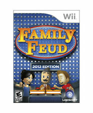 Family Feud -- 2012 Edition (Nintendo Wii, 2011) Game Complete~Tested
