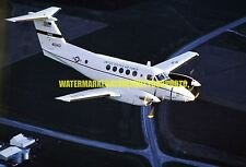 U.S. Air Force Beech C-12F Huron s/n 84-0143 Color Photo Military Aircraft USAF