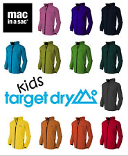 Target Dry MIAS Boys Girls Kids Waterproof Packaway Pac a Mac in a Sac Jacket