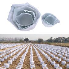 5 Size Round Fabric Pots Plant Pouch Root Container Grow Aeration Container Bag