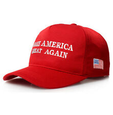 Baseball Cap Hat Make America Great Again -Adjustable Hat Red - Ships From USA