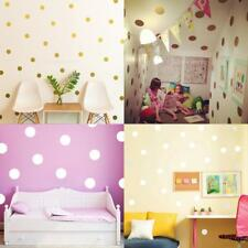 Polka Dots Wall Sticker Decals Vinyl Art Craft Girls Room Nursery Decor Mural