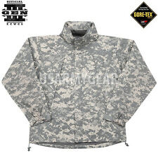 US ARMY EWCS Gen III 3 Level 6 VI Cold Weather Shell Jacket ACU Rain Large VGC