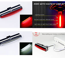 Ultra Bright 26 LED Bike Light USB Rechargeable Bicycle Tail Rear Light Lamp