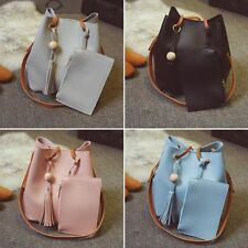 Women Lady Handbag PU Leather Shoulder Bag Purse Tote Messenger Satchel Hobo Bag