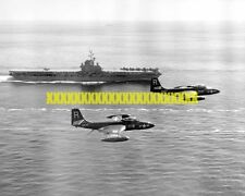 USS Essex CV-9 Photo Navy Military F2H-2 Banshee Fighter Squadron 172  VF-17 VET