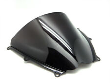 Smoke Black Double Bubble Windscreen Windshield for 2007-2008 Suzuki GSXR1000