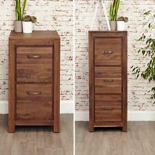 Mayan Walnut | Filing Cabinets | Two Drawer CWC07A | 3 Drawer CWC07B