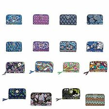Vera Bradley Turn Lock Wallet Clutch color choice R$49 freeShip