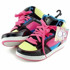 Ocean Pacific Girl's Athletic Shoes Hightop Sneakers Multi-Color NWT