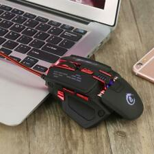 7 Button 7000 DPI LED Optical USB Wired Gaming Mouse Mice for PC Laptop
