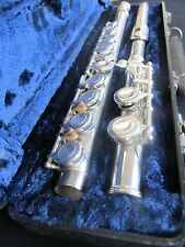 Elkhart Silver Plated Flute (Vincent Bach) - Cased - USED