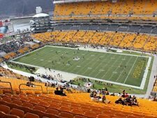 2 Steelers vs Patriots Tickets Section 515 Row CC Aisle Seats