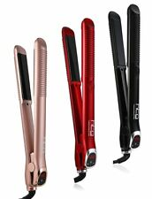 HTG Hair Straightener Flat Iron Ceramic IONIC Infrared MCH Heating Straightening