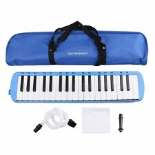 2 Colors Plastic 37 Keys Piano Melodica with Bendy Mouthpiece Hose
