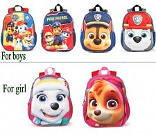 PAW Patrol kindergarten backpack  child Cartoon school bag Student Shoulders Bag