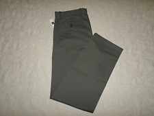 GAP KHAKI CHINO PANTS MENS CLASSIC STRAIGHT FIT SIZE 30X32 GREY COLOR NEW NWT