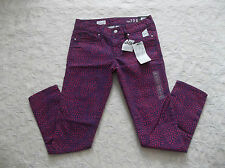 GAP 1969 JEANS WOMENS ALWAYS SKINNY SKIMMER SIZE 27 ZIP FLY STRETCH NEW NWT