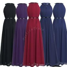 Formal Women Sequins Prom Gown Party Evening Cocktail Bridesmaid Long Dress